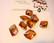 Swarovski kristalli riipus kuparinnvärinen Copper Graphic 20 mm