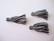 Tasselitupsu musta-valkoinen ilman ripustuslenkkiä n. 34 mm (2 kpl/pss)