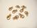 Rapulukko ruusukulta 10 mm (10 kpl/pss)
