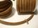 Nahkajäljitelmänauha 6 x 4 mm ruskea (m-erä 50 cm)