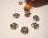 Bali 925 hopea helmihattu 8 mm (2 kpl/pss)