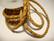 Nahkanauha punottu vaalea ruskea 4 mm (m-erä 50 cm)