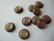 Polariskapussi hohtava vaalea savukvartsin ruskea 12 mm