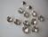Swarovski kristalli rivoli kirkas pyöreä 8 mm SS39 (2 kpl/pss)
