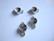 Korulinkki / riipus hopeoitu 17 x 10 mm SS39 (n. 8 mm) rivolille (2 kpl/pss)