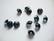 Swarovski kristalli rivoli tummansininen pyöreä 8 m SS39 (2 kpl/pss)