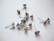 Korvakorutappi Swarovskin SS39  (8 mm) rivolille ruostumaton teräs (10 kpl/pss)