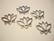 TierraCast riipus/korulinkki hopeoitu Lootus 19,5 x 23.5 mm