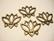 TierraCast riipus/korulinkki pronssinvärinen Lootus 19,5 x 23.5 mm