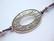 Korulinkki / riipus Ovaali antiikkihopeoitu 63 x 34 mm, lenkkien halkaisija n. 3,3 mm