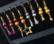 Kimallehelmi antiikkipinkki pyöreä 8 mm (4 kpl/pss)