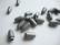 Turvalukko muovia hopeanvärinen 25 x 9 mm