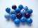 Rayher Puuhelmimix (puuhelmisekoitus) sininen/sinisävyt 12 mm (32  kpl/pss)