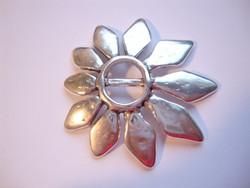 Metallihelmi/hela (slider) Kukka 55 mm 10 mm nahkanauhalle