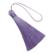 Tasselitupsu vaalea violetti / laventeli 80 mm
