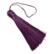 Tasselitupsu tumma violetti 80 mm
