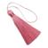 Tasselitupsu vaaleanpunainen 80 mm