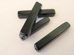 Kivihelmi musta putki 30 x 5 mm (2 kpl/pss)