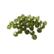 Swarovski kristallihelmi hiottu pyöreä metsänvihreä 8 mm (2 kpl)