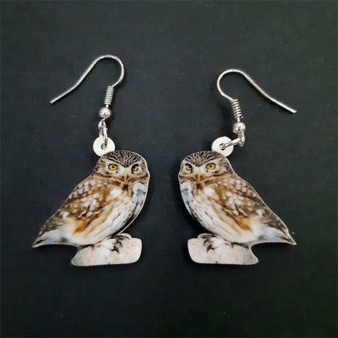 Varpuspöllö-korvakorut