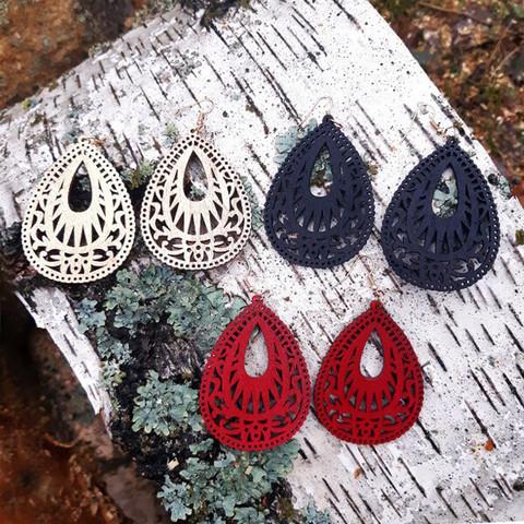Sara-korvakorut, 3 väriä