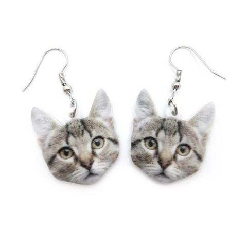 Kissan pää-korvakorut