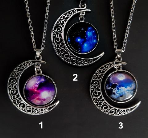2 Sininen Kosmos- kaulakoru