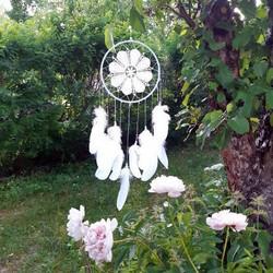 Loulou- unisieppari, valkoinen