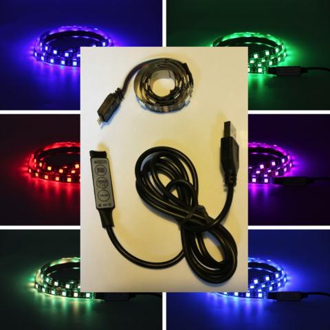 LED-nauha sateenkaari 50cm