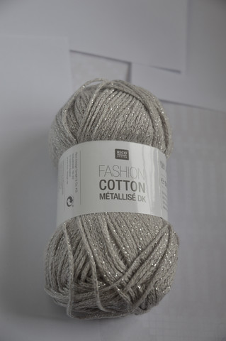 Rico Fashion Cotton Métallisé DK