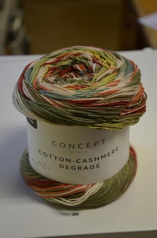 Katia Concept Cotton-Cashmere Degradé