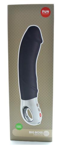 Patchy Paul BIG BOSS G5 vibraattori - musta