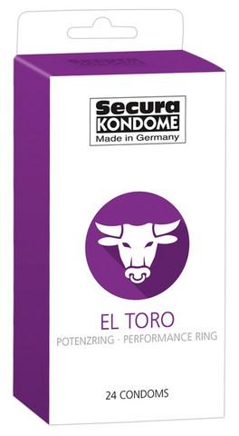 Secura EL TORO - kondomit 24 kpl