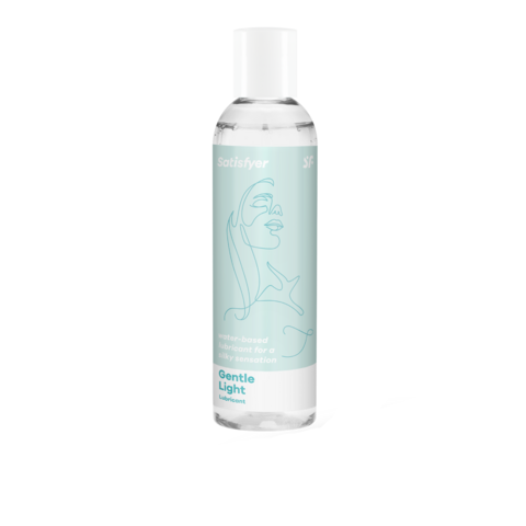 Satisfyer Gentle Light 150 ml - vesipohjainen liukuvoide