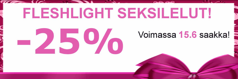 Fleshlight seksilelut tarjous