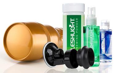 Fleshlight Stamina Training Unit tekovagina - STU sisuksella (VALUE PACK)
