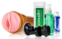 Fleshlight Stamina Training Unit tekovagina - STU sisuksella (VALUE PACK)