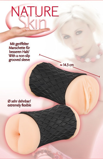 Nature Skin Pussy & Ass - tekovagina ja anus