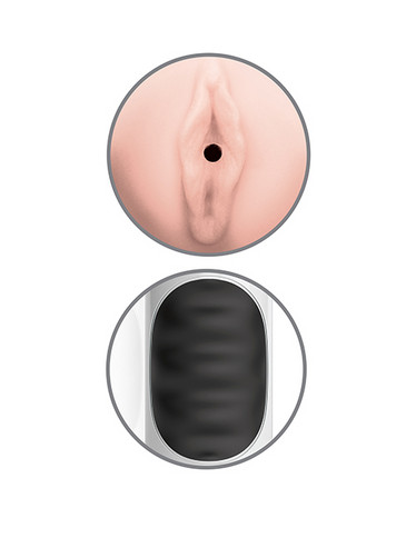 PDX MEGA GRIP - masturbaattori vibralla