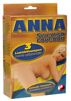 ANNA Swedish Lovedoll - seksinukke