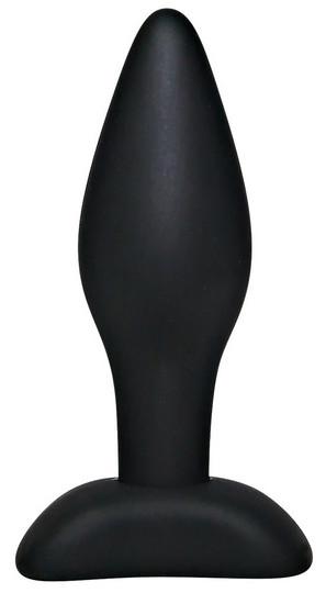 Black Velvets Small Silicone - anustappi