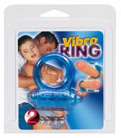 Vibro Ring - sininen penisrengas