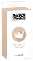 Kondomit Secura Original 24 kpl