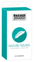 Secura Nature Feeling kondomit 24 kpl