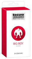 Secura BIG BOY - isot kondomit 24 kpl