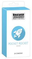 Secura Pocket Rocket - pienet kondomit 24 kpl
