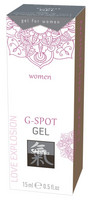 Shiatsu G-Spot Geeli naisille 15 ml