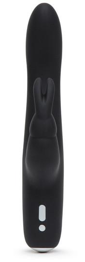 Fifty Shades of Grey Slimline Rabbit - ladattava vibraattori
