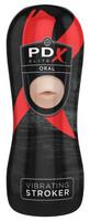 PDX Elite Vibrating Oral Stroker - tekosuu