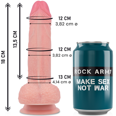 ROCK ARMY MUSTANG Liquid Silicone (18 cm) - tekopenis